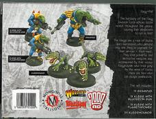Mongoose: Boxset Klegg Invasion Force Rear