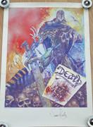 Tom Frame: Simon Bisley Deadlock Print