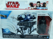 Imperial Probe Droid and Darth Vader