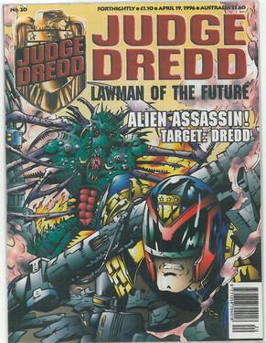 Judge Dredd Lawman of the Future 20
