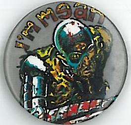 I'm Mean Badge Eighties