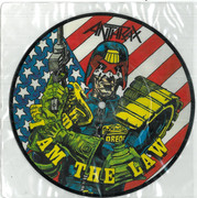 Anthrax: I am the Law 7 Inch Picture Disc