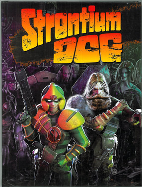 Mongoose: Strontium Dog Rule Book