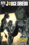 Judge Dredd 1 Cover RE Midtown Comics
