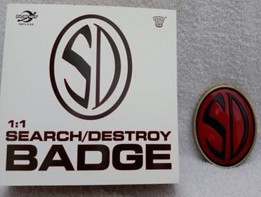 Planet Replicas: Strontium Dog Badge