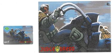 P&J Promotions Judge Dredd Series 1 number 3