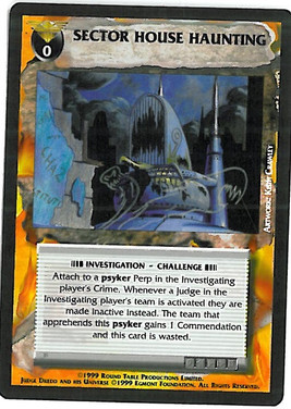 Dredd CCG: Events - Sector House Haunting
