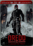 Dredd 2012 Blu-Ray Steelbook French