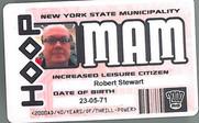 Planet Replicas Hoop ID Card.