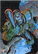 2000ad Postcard Series 2 Number 1