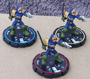 Heroclix: Brit-City Judge Set