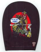 Car Headrest Covers Judge Dredd Black