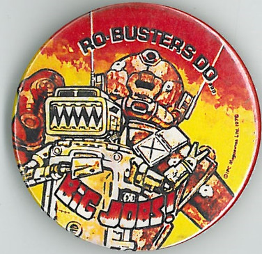Robusters Badge 1978