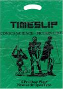 Timeslip Comic Shop Plastic Bag