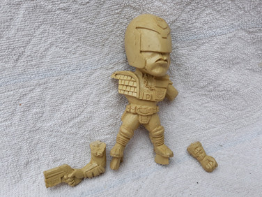 Judge Dredd 1995 Deform Model