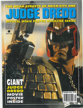 Judge Dredd Movie Poster Prog 4