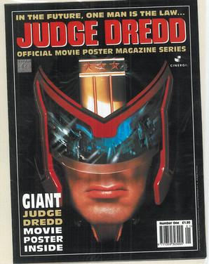 Judge Dredd Moivie Poster Prog 1