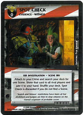 Dredd CCG: Incidents - Spot Check