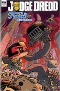 Judge Dredd Funko Universe 1 Cover RI