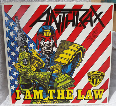 Anthrax: I am the Law Maxi 12 Inch