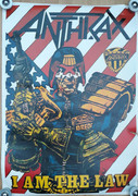 Anthrax Judge Dredd Poster