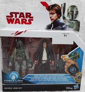 Han Solo and Boba Fett