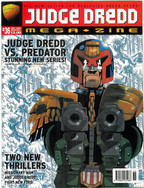 Judge Dredd Megazine Vol 3 Number 36