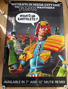 Fink Brothers: Mutants in Mega-City One Giant Poster