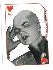 Playing Cards Megazine: Four of Hearts