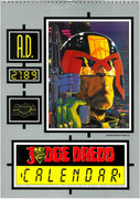 Judge Dredd Calendar