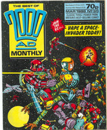 Best of 2000ad Monthly 30