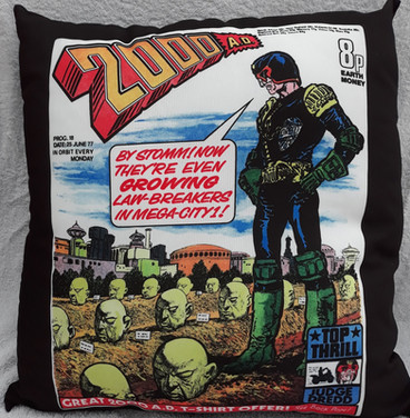 Judge Dredd Cushion
