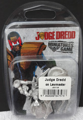 Mongoose-Warlord Blister: Judge Dredd on Lawmaster