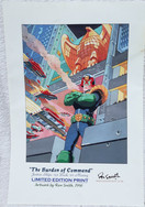 Ron Smith Burden of Command Judge Dredd Print