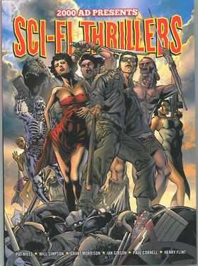2000ad Presents Sci-Fi Thrillers