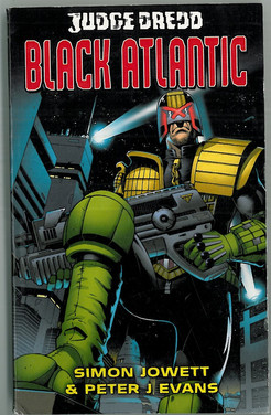 Black Flame : Judge Dredd Black Atlantic