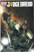 Judge Dredd 1 Cover B