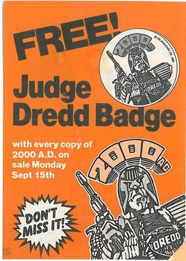 2000ad Prog 300 Promo Flyer