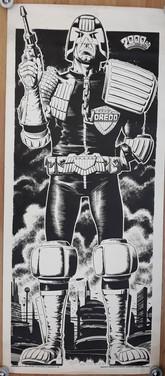 Judge Dredd Door Poster