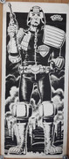 Judge Dredd Door Poster
