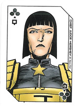 Playing Cards Megazine: Queen of Clubs