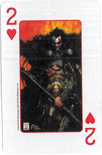 Playing Cards SFX: Two of Hearts