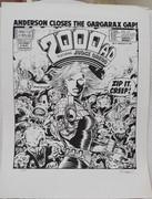 Tom Frame: Brett Ewins Prog 472 Cover Print