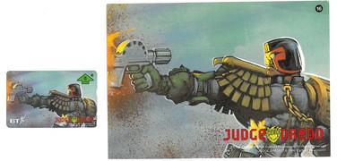 P&J Promotions Judge Dredd Series 1 number 16