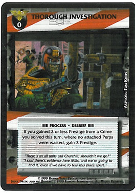 Dredd CCG: Incidents - Thorough Investigation