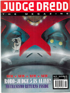 Judge Dredd Megazine Vol 2 Number 22