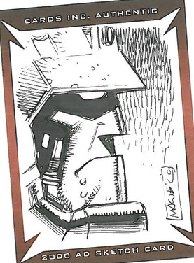 Strictly Ink Sketch Card Hammerstein Colin MacNeil
