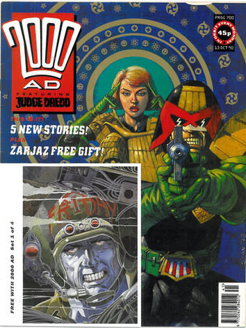 2000ad 700 stickers outside