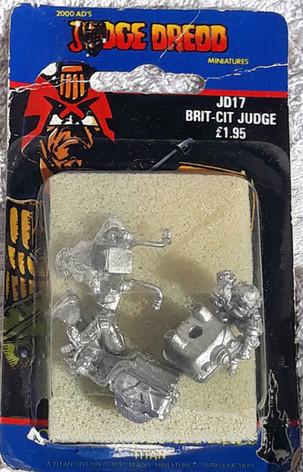 Citadel Blister Judge Dredd: JD17 Brit-Cit Judge