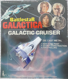 Galactic Cruiser Blue